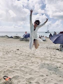 Kein Strand ohne Springfoto