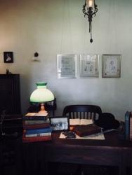 Edisons Schreibtisch